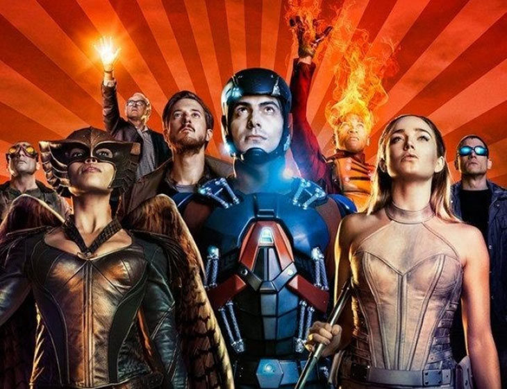 Los protagonistas de Legends of tomorrow