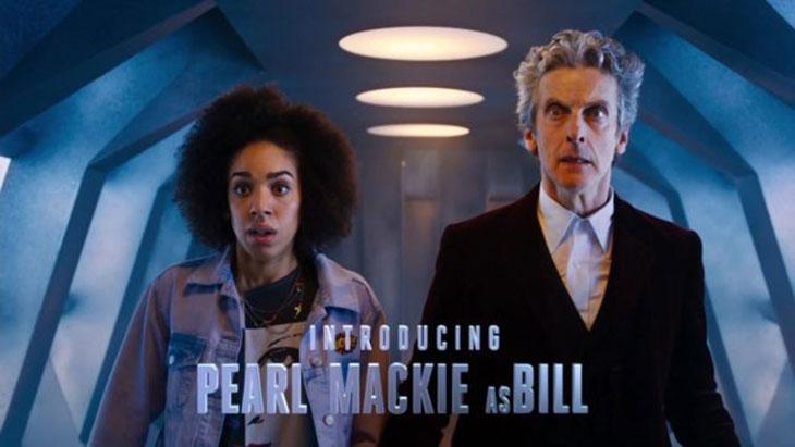 Pearl Mackie y Peter Capaldi