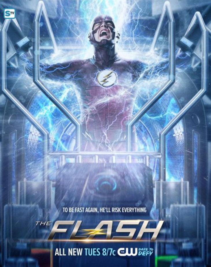 Póster de Rupture, de The Flash