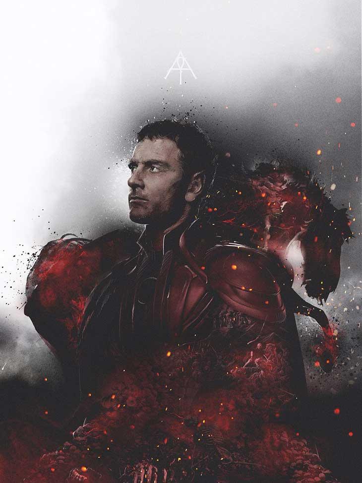 X-Men Apocalipsis Poster de  Magneto