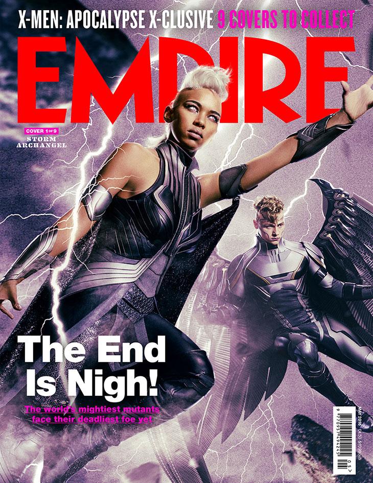 Portada de Empire de X-Men: Apocalipsis