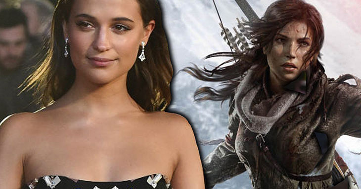 Alicia Vikander será Lara Croft