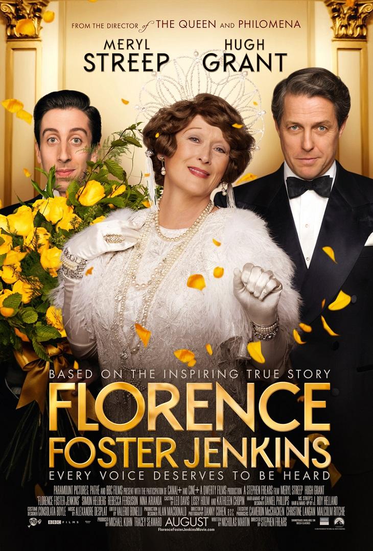 Nuevo Póster de 'Florence Foster Jenkins'