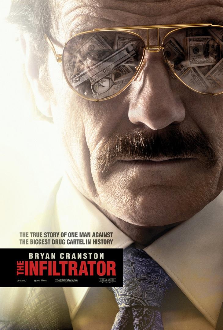Póster de 'The infiltrator'