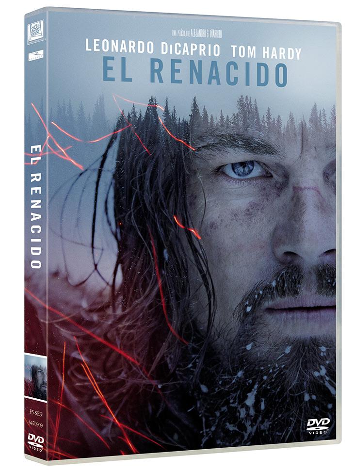 Portada DVD de El renacido