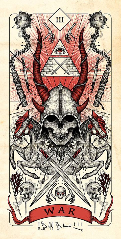 X-Men: Apocalipsis póster del Jinete de la Guerra