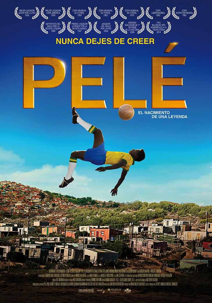 Póster de Pelé: el nacimiento de una leyenda