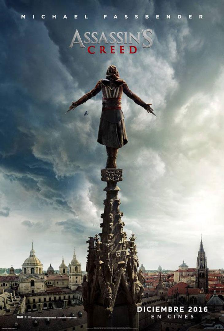Póster en español de Assasin`s Creed