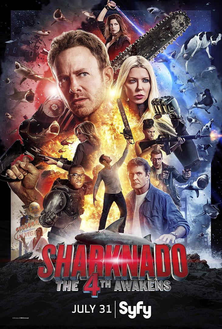 Póster de Sharknado 4