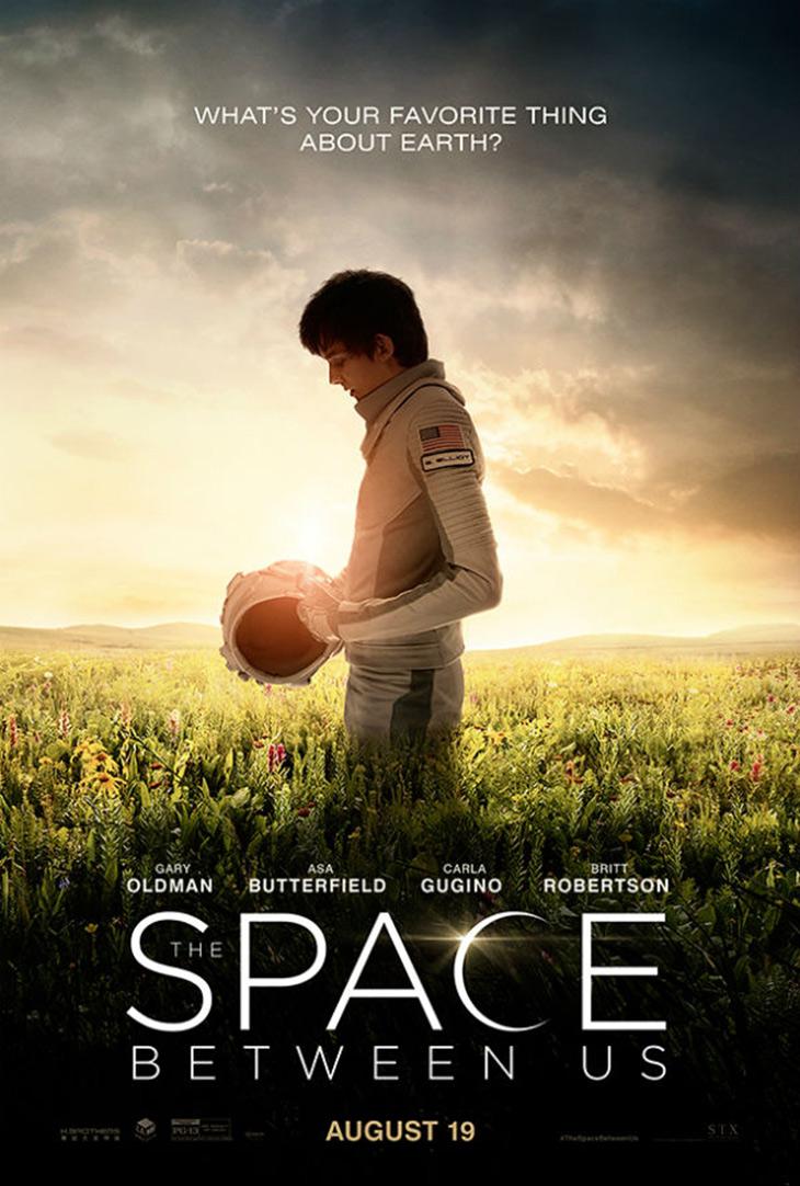 Póster de The Space Between Us