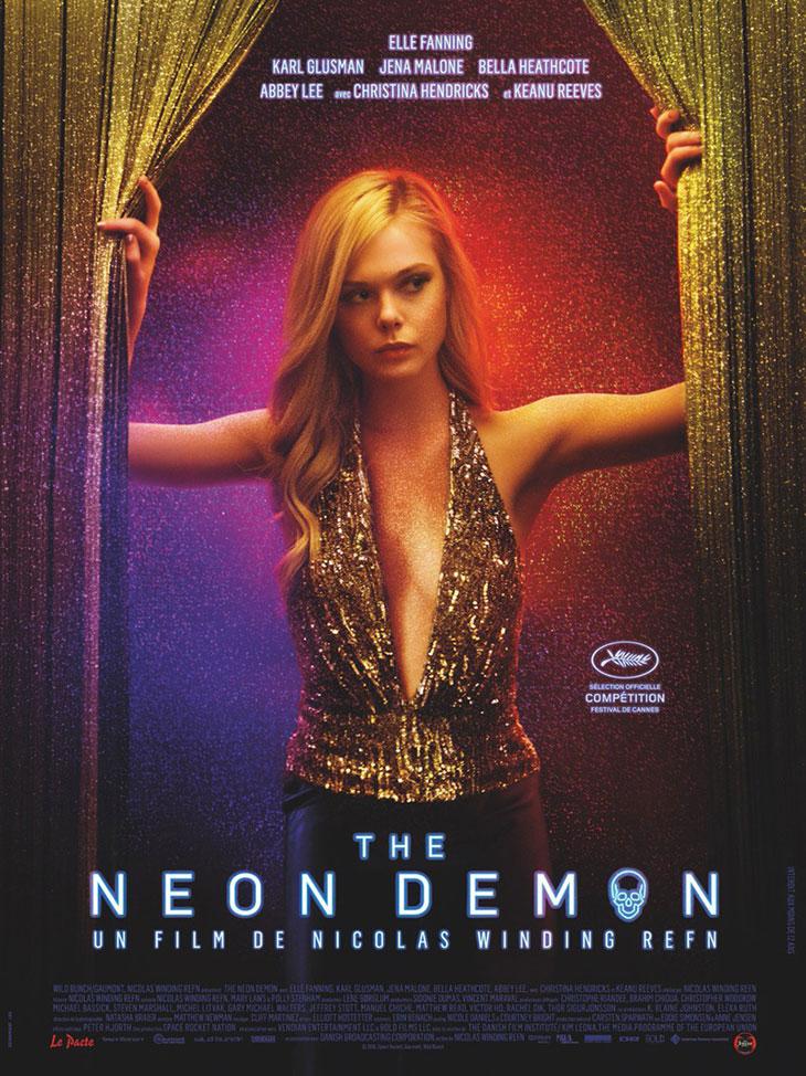 Póster de The Neon Demon