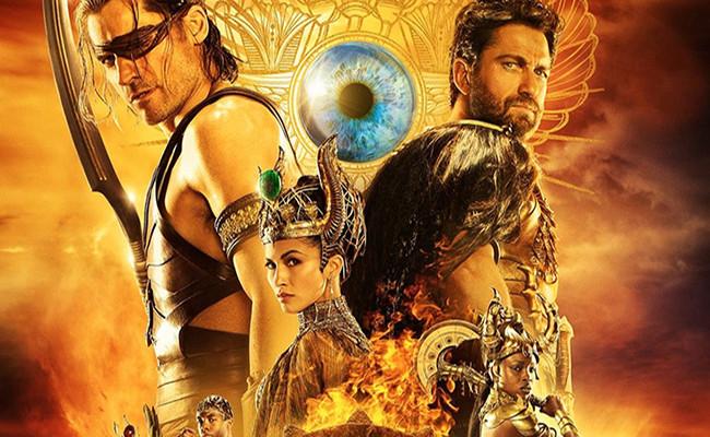 Cartel de Dioses de Egipto destacada