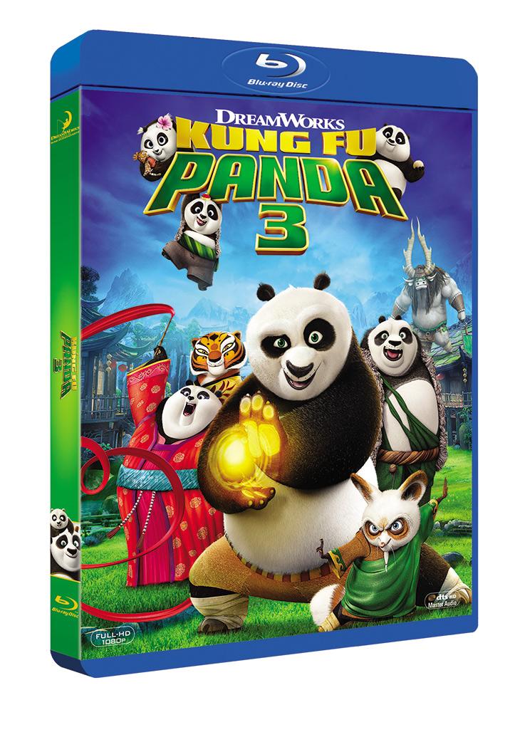 Blu Ray Kung Fu Panda 3