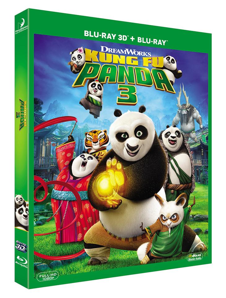 Blu Ray 3d Kung Fu Panda 3