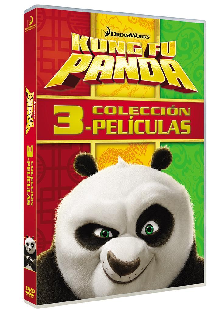 Pack Kung Fu Panda en DVD