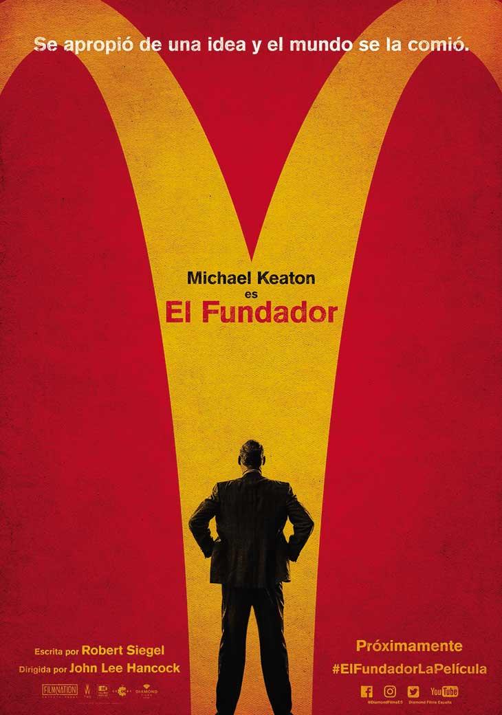 Póster en español de El Fundador