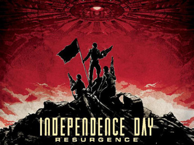Póster IMAX de 'Independence Day: contraataque' destacada