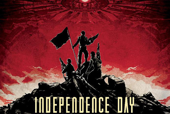 Póster IMAX de 'Independence Day: contraataque' destacada