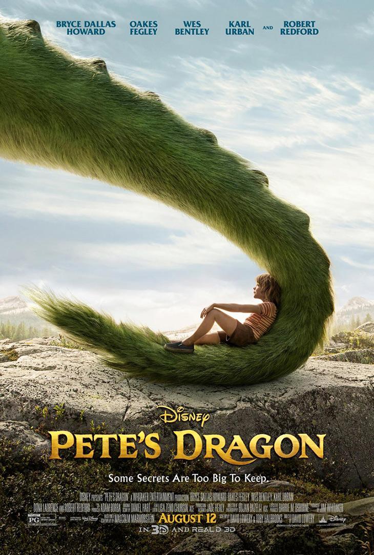 Póster de 'Peter y el Dragón (Pete`s Dragon)'
