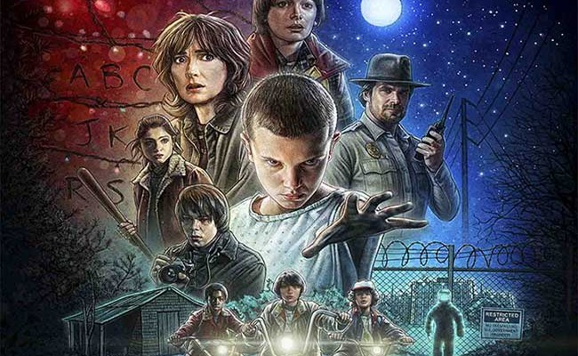 Nuevo póster de Stranger Things destacada