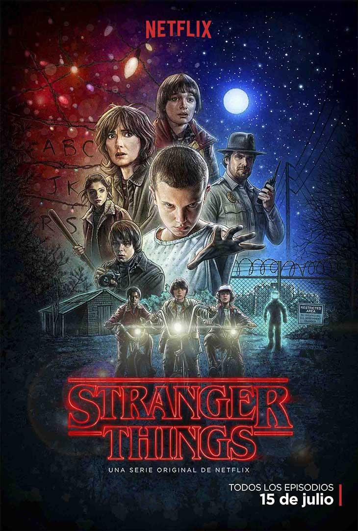 Nuevo póster de Stranger Things