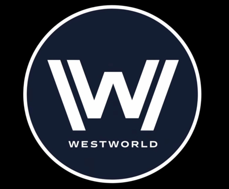 Logo de Westworld, la serie de HBO