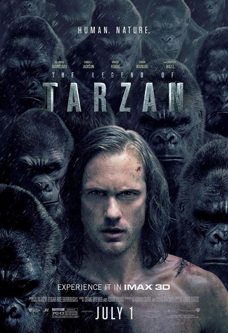 Póster IMAX de La leyenda de Tarzán