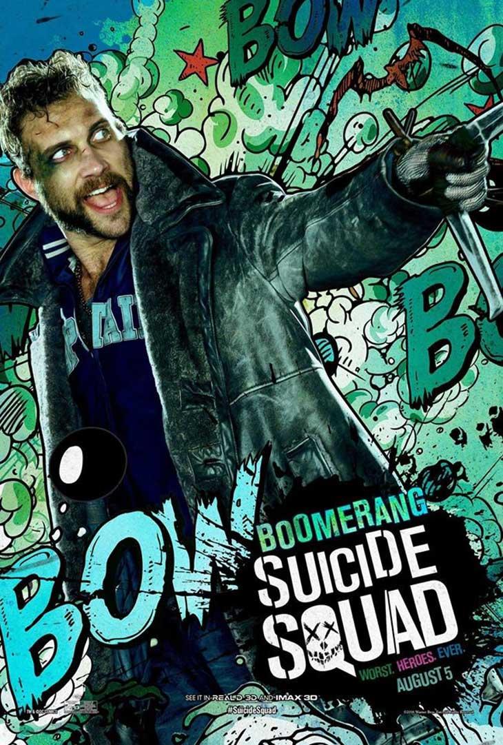 Póster de Escuadrón Suicida (Suicide Squad)