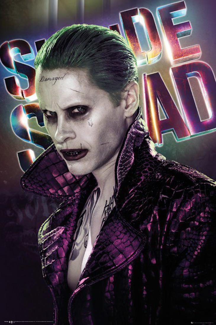 Póster del Joker de Escuadrón Suicida