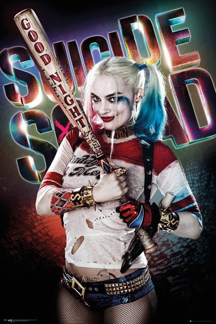 Póster de Harley Quinn de Escuadrón Suicida