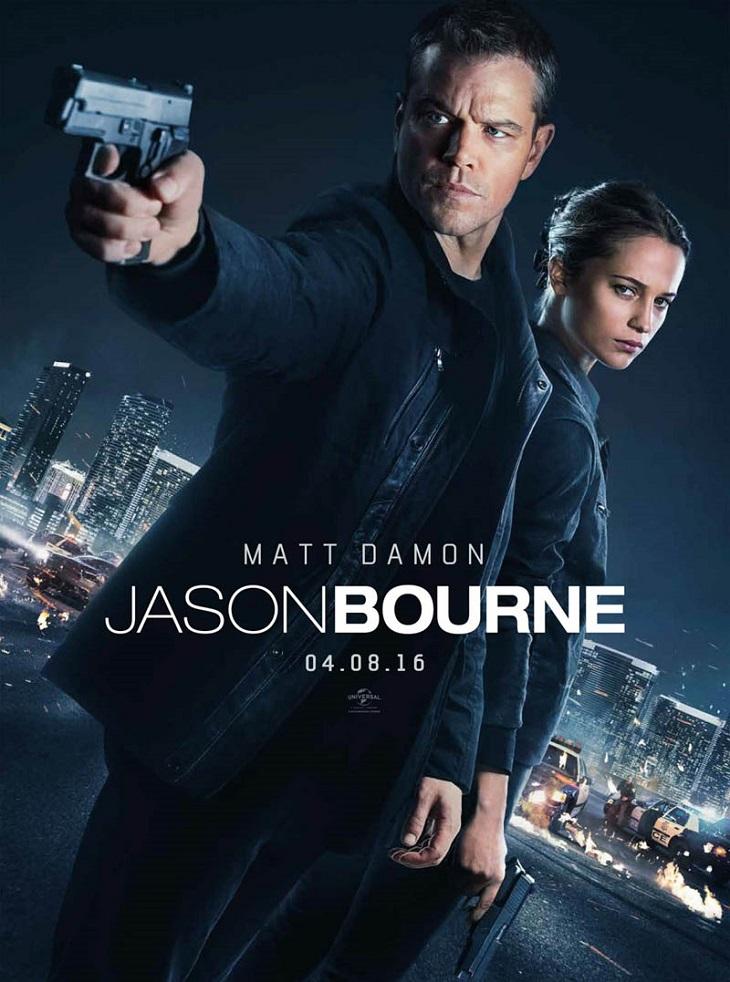Cartel de Jason Bourne