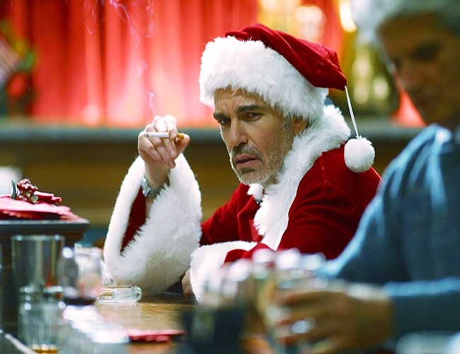 Billy Bob Thornton en Bad Santa destacada