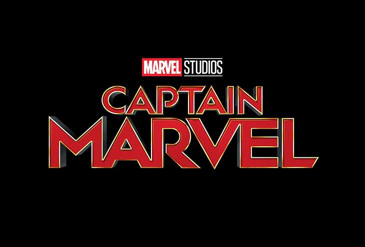 Logo Captain Marvel de Marve
