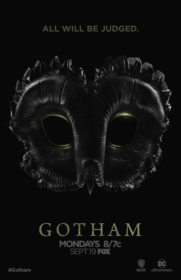 La Corte de los Búhos protagoniza el nuevo póster de 'Gotham'