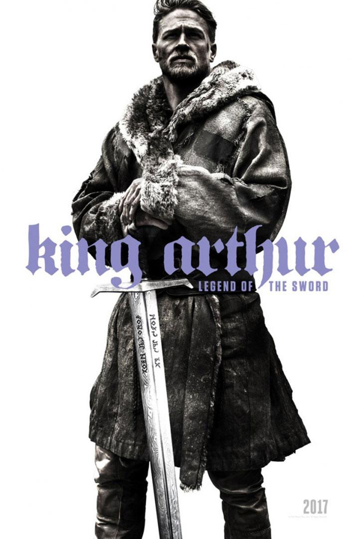 Póster de Rey Arturo: La leyenda de la espada