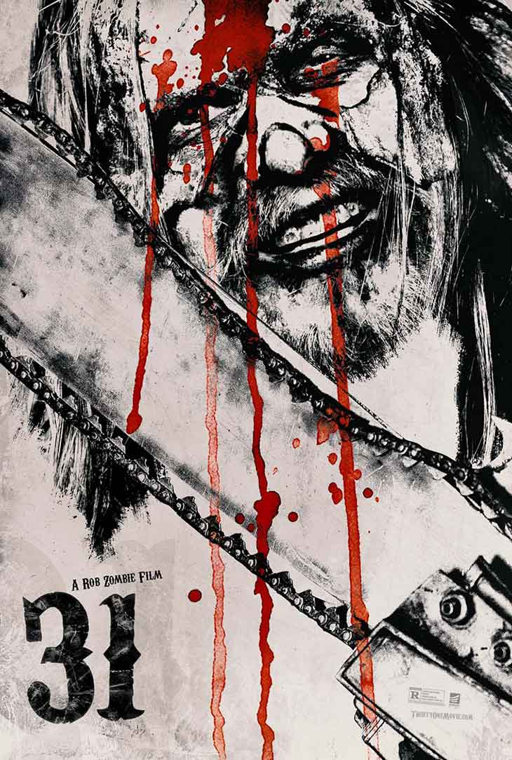 Nuevo póster de 31, de Rob Zombie