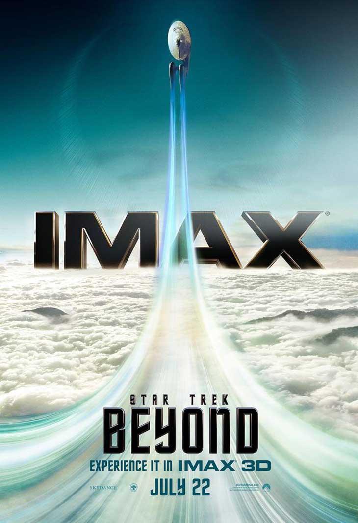 Póster IMAX de 'Star Trek: Más allá'