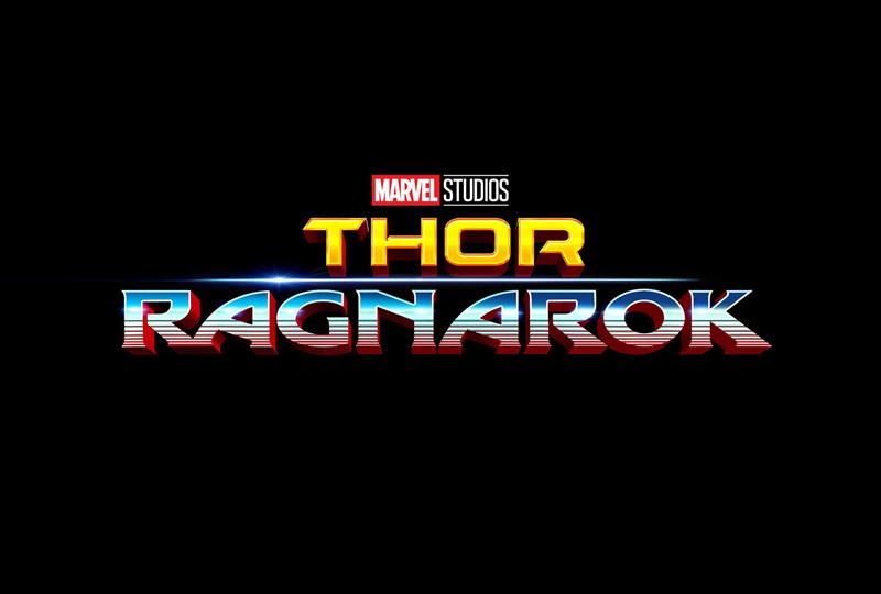 Logo Thor Ragnarok de Marvel