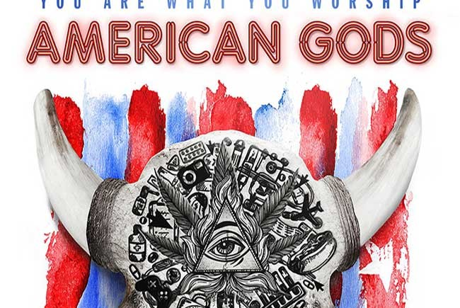 Póster de American Gods destacada