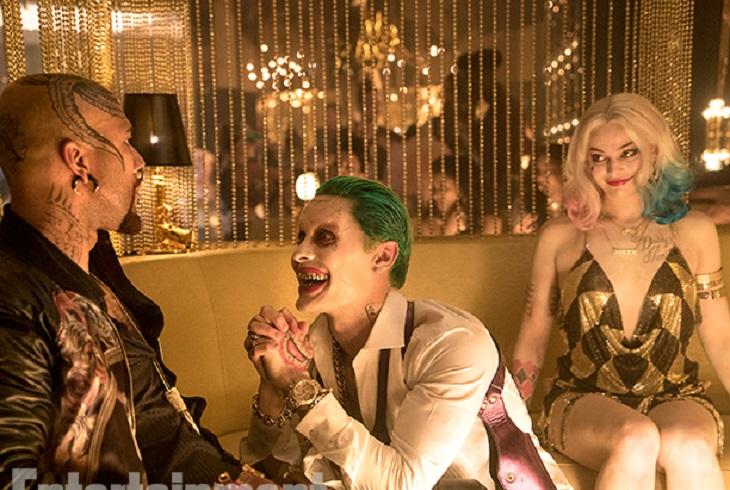 Imagen del Joker y Harley Quinn en 'Escuadrón suicida'