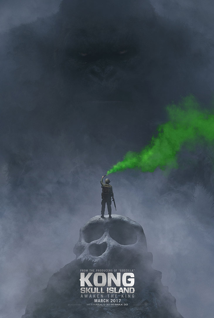 póster de 'Kong: Skull Island'