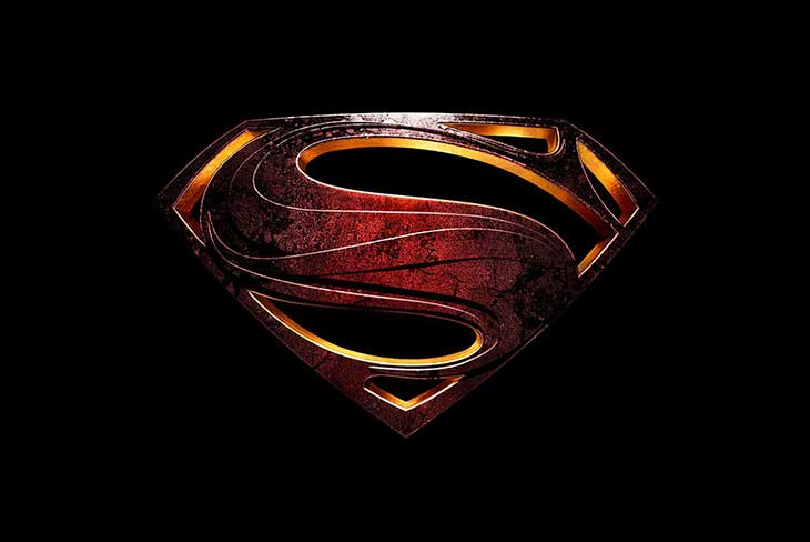 Justice League logo Superman