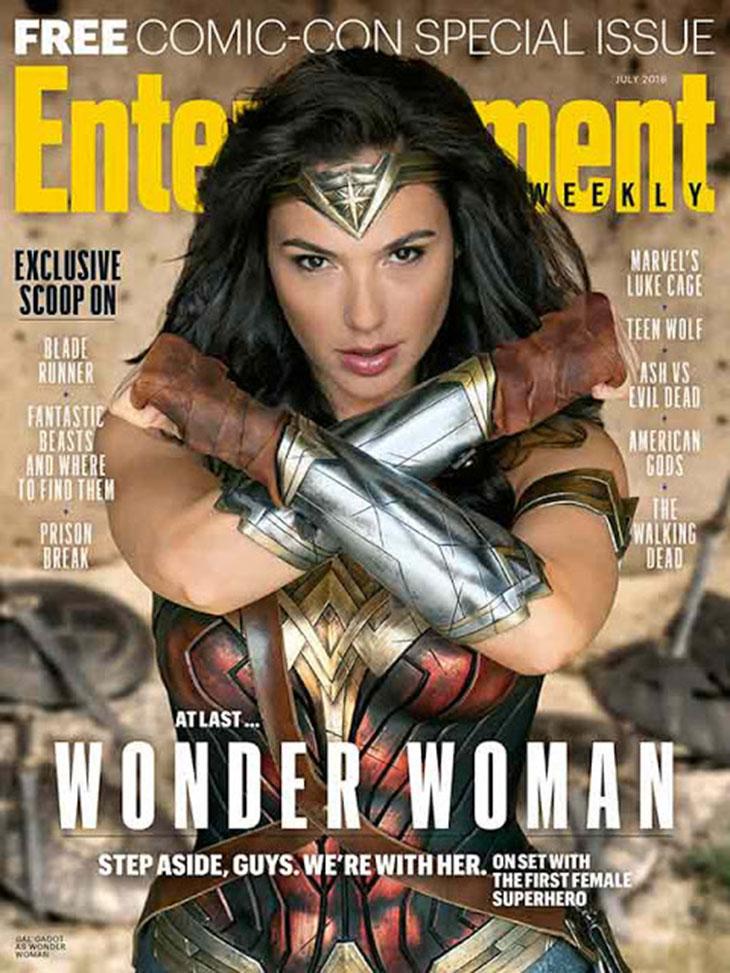 Portada Entertainment Weekly de Wonder Woman