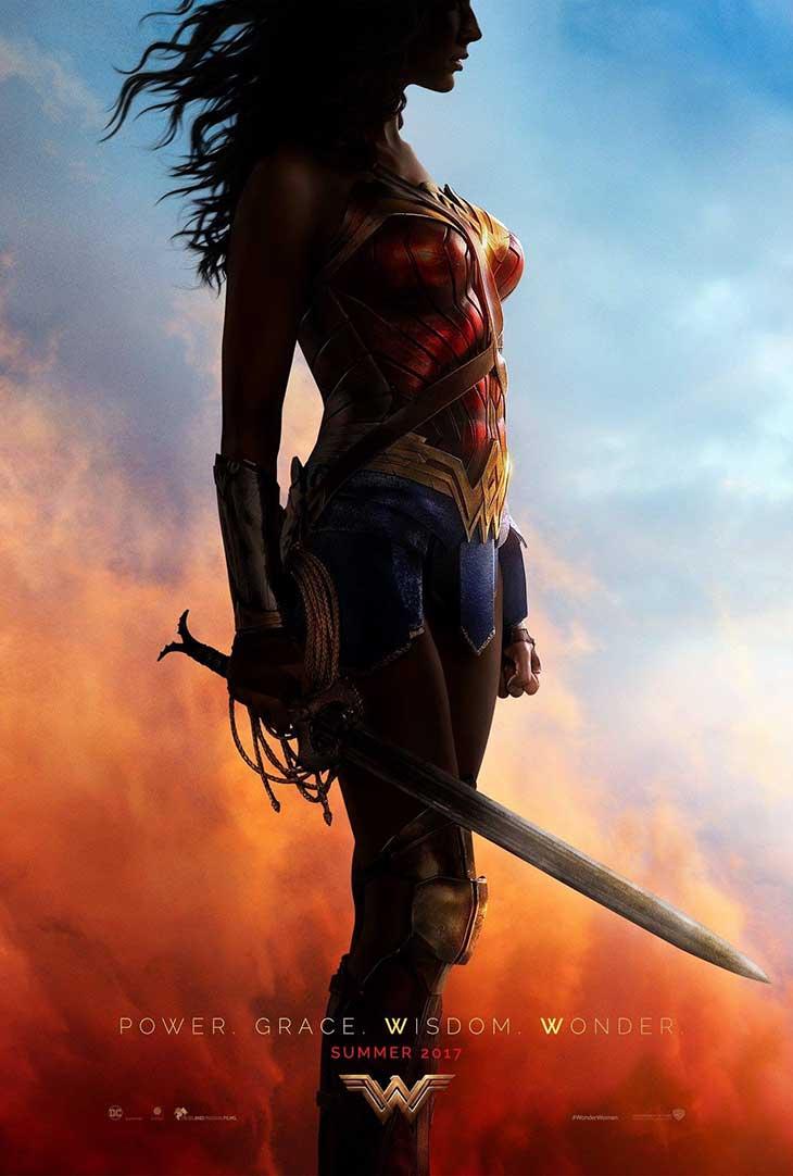 Póster Comic-Con de Wonder Woman