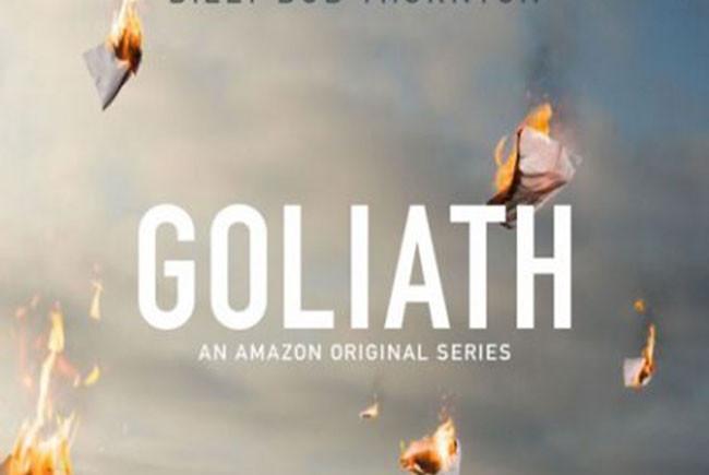 Póster de Goliath destacada