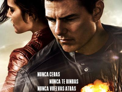 Póster en español de 'Jack Reacher: nunca vuelvas atrás' destacada