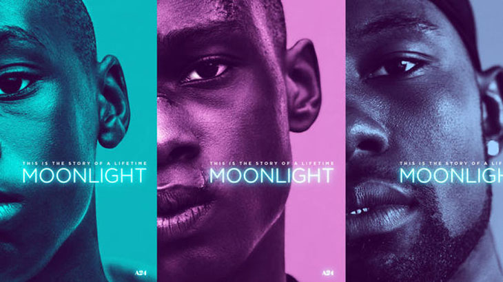 Pósteres de personajes de 'Moonlight'