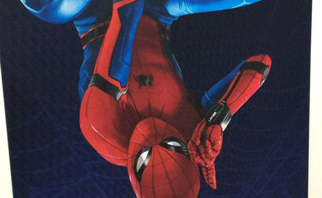 Spider-Man Homecoming poster destacada