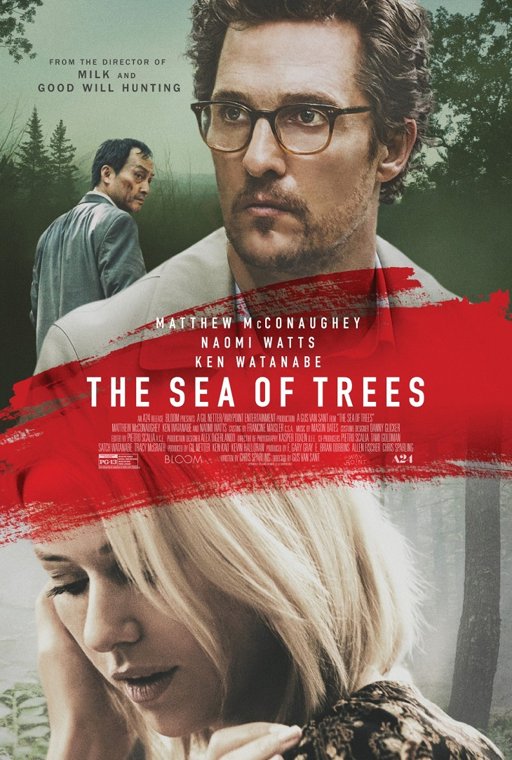 'The sea of trees'