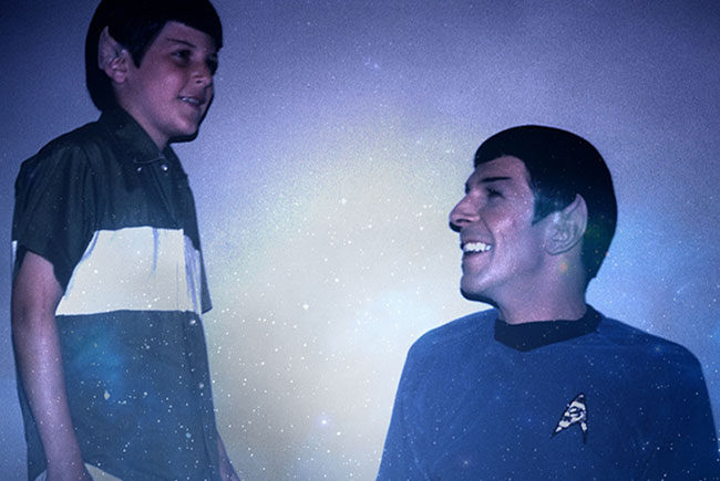 Imagen promocional de For the love of Spock destacada